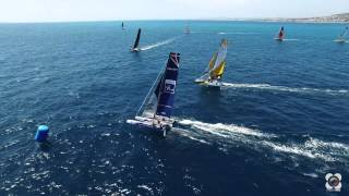 Tour de france à la voile 2015 in Nice Aerial video
