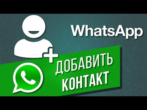 Как добавить новый контакт в WhatsApp   Что делать, если новый пользователь не добавляется в Ватсап?