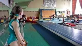 Ессентуки. Соревнования по спортивной гимнастике.Опорный прыжок. 03.03.2017