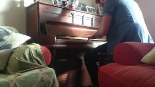 The X-Files theme tune on piano