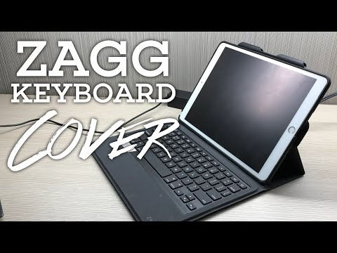 b808ab05710 ZAGG Rugged Messenger Backlit Keyboard Cover for the iPad Pro Review -  YouTube