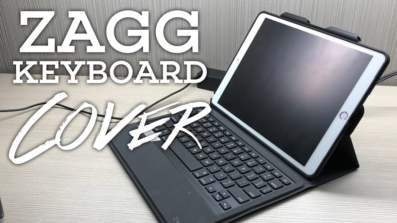 d62f11fed6d ZAGG Rugged Messenger Backlit Keyboard Cover for the iPad Pro Review ...