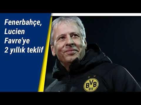 Fenerbahçe'den teknik direktör adayı Lucien Favre'ye 2 yıllık teklif