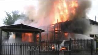 Incendio en la Carol Urzúa
