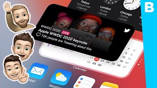 Widgets op je iPhone-homescreen met iOS 14 en meer Apple-nieuws van #WWDC