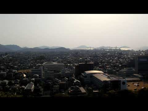 Panoramic View from Marugame Catle (Castle Tower)