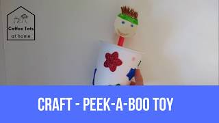 Coffee Tots at home - craft - Peek-A-Boo Toy