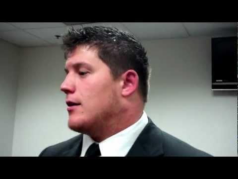 James Ferentz, Penn State Postgame (3/3) 10-20-12