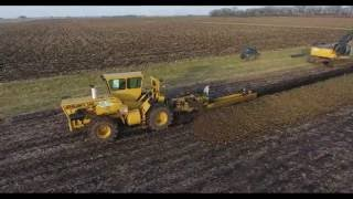 PRAIRIELAND FARM DRAINAGE INSTALLING 4000FT OF 18 AND 15 INCH DUALWALL MAIN