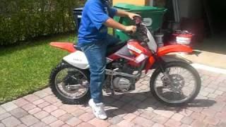 Cesar Laborde/200cc Shinray dirt bike