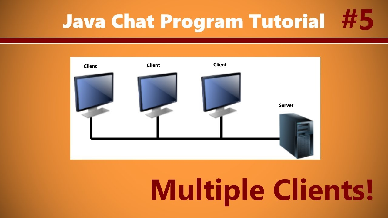 Java chat program tutorial 5 talking to other clients youtube java chat program tutorial 5 talking to other clients baditri Choice Image