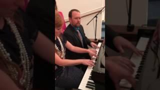 Revolving Piano Duet