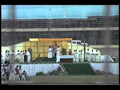 Pope John Paul II Jamaica Visit 1993