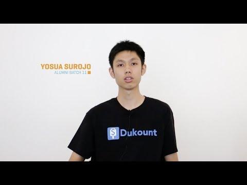 Yosua Surojo, Full Stack Developer in Only 12 Weeks