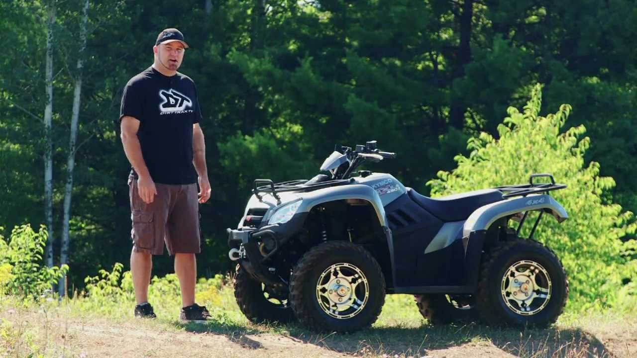 atv test ride 2012 kymco mxu 450i le youtube. Black Bedroom Furniture Sets. Home Design Ideas