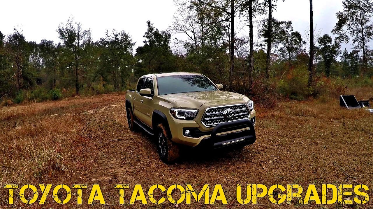 2017 Toyota Tacoma Bull Bar Upgrade Youtube