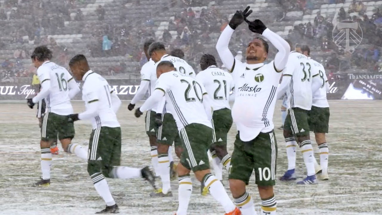 Sebastián Blanco scores against Rapids, has special celebration