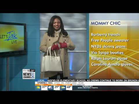DC Style Factory on Let's Talk Live: Cold Weather Styles February 2015
