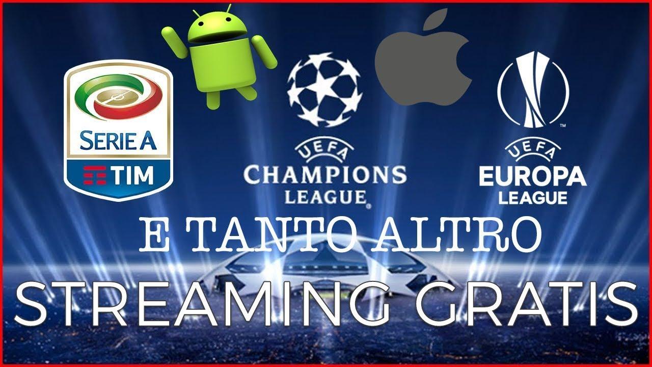 TUTTO il CALCIO streaming GRATIS su SMARTPHONE E PC! Android