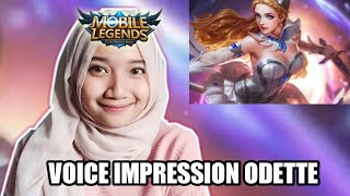 Voice Impression Odette - Mobile Legends