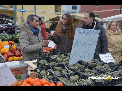 Carciofi mercato di Alassio