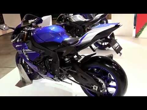 download 2017 Yamaha R1 BluePro Special Premium Rare Features Edition First Impression Walkaround HD