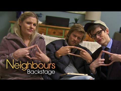 Jenna Rosenow Amber Part 2  Neighbours Backstage