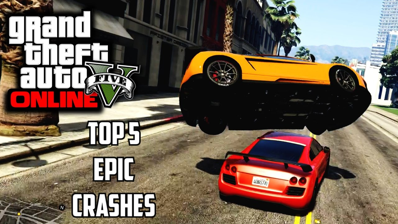 Gta Top Racing Crashes Gta V Epic Crash Compilation Youtube