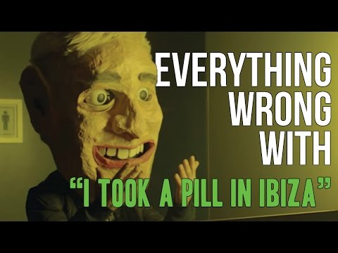 "Everything Wrong With Mike Posner - ""I Took A Pill In Ibiza"""