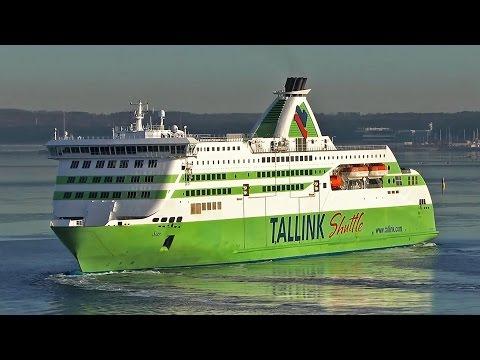 Tallink M/S Star Departure Port of Tallinn