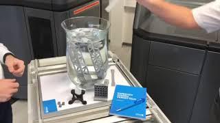 HP Multi Jet Fusion 3D 4200 Serie - Materialdichte Wasser