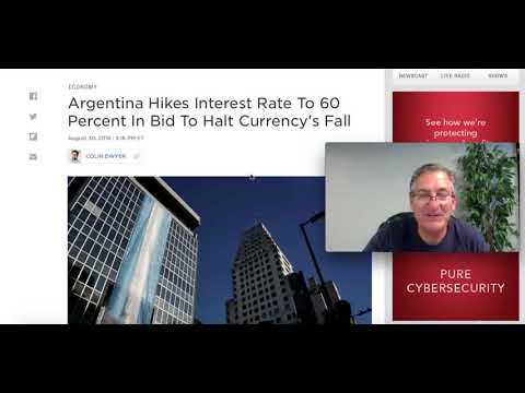 Argentina Hikes Interest Rate to 60%