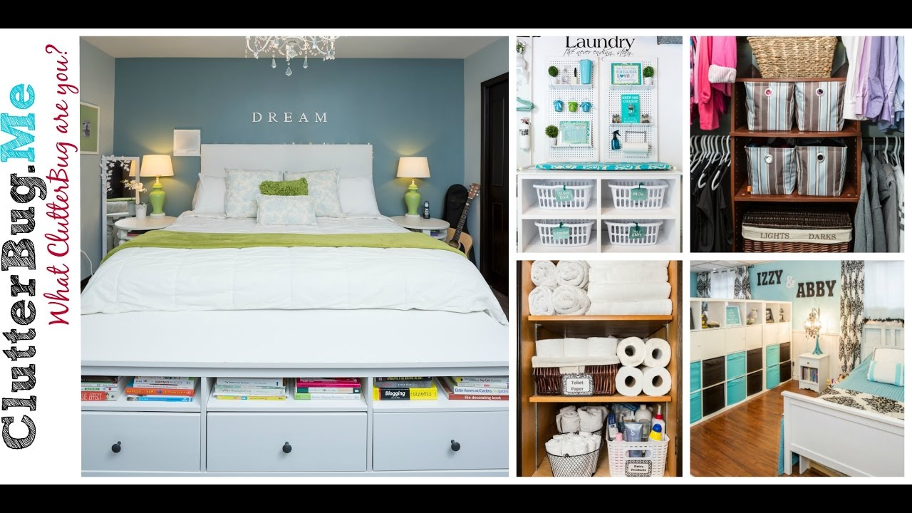 the secret to a clean and organized home youtube. Black Bedroom Furniture Sets. Home Design Ideas
