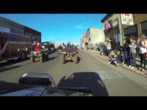 2014 RZR Rally Parade   Hurley WI
