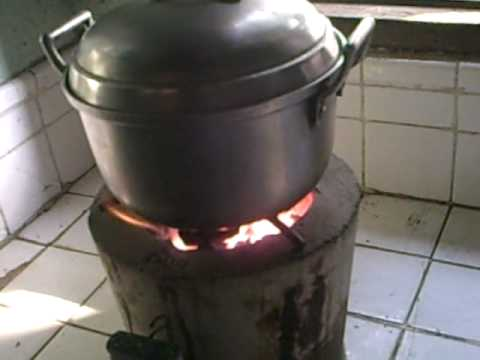 dmb charcoal stove with a blower  YouTube