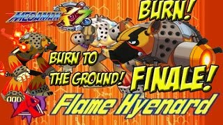 Megan Man X7 Finale! BURN! BURN TO THE GROUND! - YoVideogames