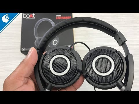 Boat Bass Heads 900 Unboxing and Review [Hindi]
