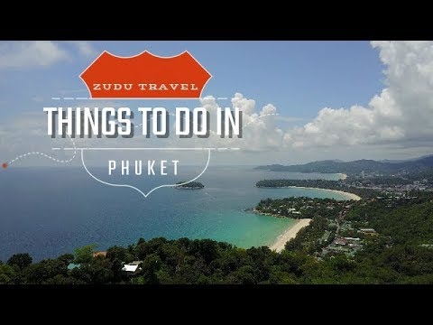 A few things to do/see around Phuket 4k