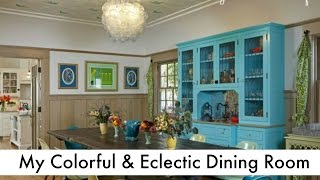 The Dining Room: The Glamorous Housewife Home Tour