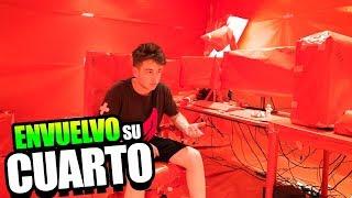Video de ENVUELVO TODO SU CUARTO CON PAPEL DE REGALO! VENGANZA A TARIFA