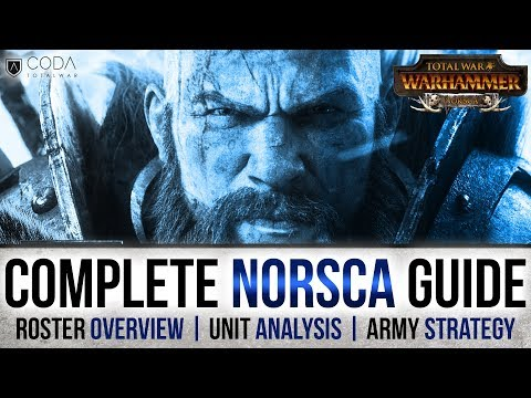 Complete Norsca Faction & Army Guide for Total War: Warhammer