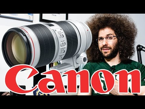 Canon 70-200 f2.8 IS III Preview | They FLIPPED the rings like Nikon?