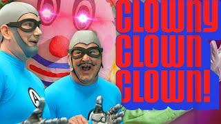 The Aquabats Get Invited to Meet a CREEPY Clown! (Part 1) - The Aquabats! RadVentures!