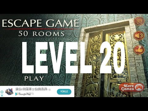 escape game 50 rooms 1 level 20