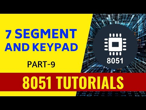 Embedded C Tutorials for beginners- interfacing with 8051
