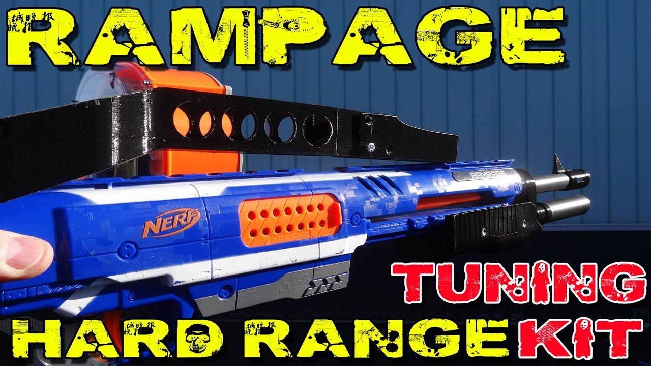 Quot Nerf Rampage Hard Range Tuning Kit Quot Einbau