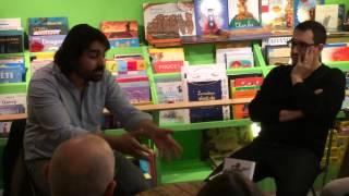 Fabrice Arfi de Mediapart présente son livre le sens des affaires à Aulnay-sous-Bois