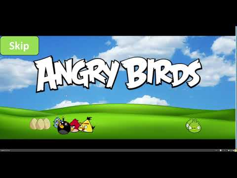 Angry Birds Arrangement Game For PowerPoint