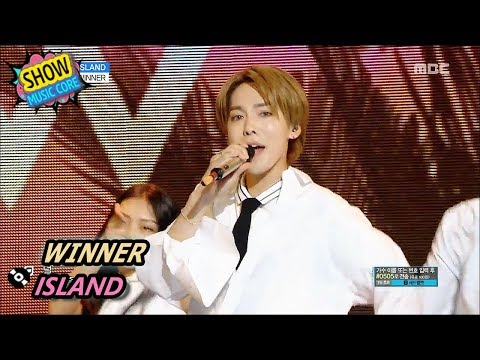 [Comeback Stage] WINNER - ISLAND, 위너 - 아일랜드 Show Music core 20170805