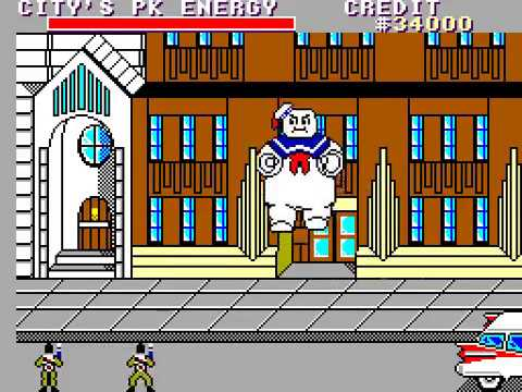 Master System Longplay [184] Ghostbusters